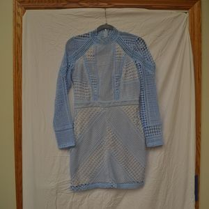 Misguided Mesh Dress Size 8